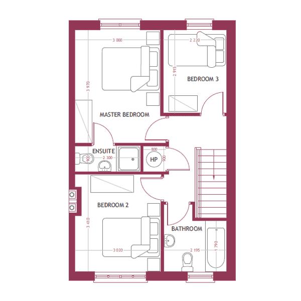 C2 First Floor Map